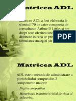 Matricea ADL