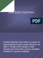 BPCAS5 Web Baza Uvod