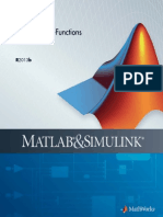 s Functions in matlab R2013