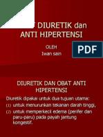 interaksi diuretik