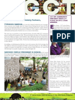 CCT Donor Newsletter June - August 2013
