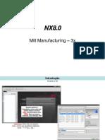 Manual Milling NX8