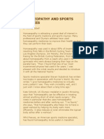 HOMOEOPATHY AND SPORTS INJURIES.doc