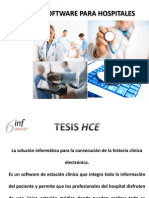 Gestion Hospitalaria Software SISINF