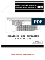 Repairing Replacing Evaporators