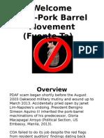 Briefing Material on Pork Barrel Abolition