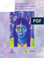 Mujeres Indígenas en Observatorio de Sentencias Judiciales