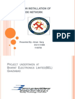 project report on installation of campus wide network