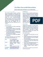 Ingredients of Interaction Workshop Flyer v3 for October 2013