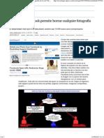 Un fallo de Facebook permite borrar cualquier fotografía de la red _ Tecnología _ EL PAÍS.pdf