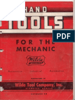 Wilde Tool Catalog 1958