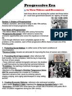 the progressive era summary