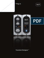 SPL Transient Designer Manual