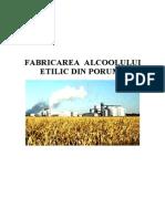 131056242 Fabricarea Alcoolului Etilic Din Porumb Doc