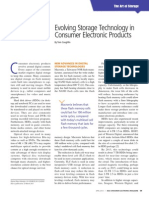 Evolving Storage Technology in Consumer Electronic Products