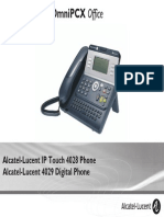 ENT PHONES IPTouch-4028-4029Digital-OXOffice Manual 0907 PT