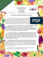 Nutrition Month Celebration-Report
