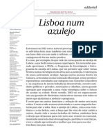 Lisboa Num Azulejo