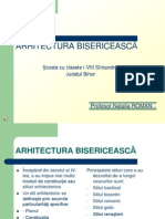 Arhitectura bisericeasca