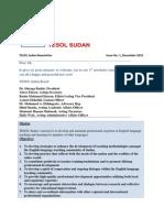 TESOL Sudan Newsletter