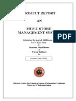 Music Store Managemant