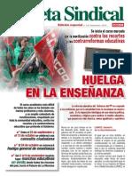 Pub102285 Gaceta Sindical (Edicion Especial n 167) Se Inicia El Curso Con Movilizaciones en La Ensenanza[1]