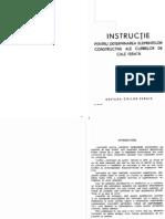 Instructie Pentru Determinarea Elementelor Constructive Ale Curbelor de Cale Ferata ['60]