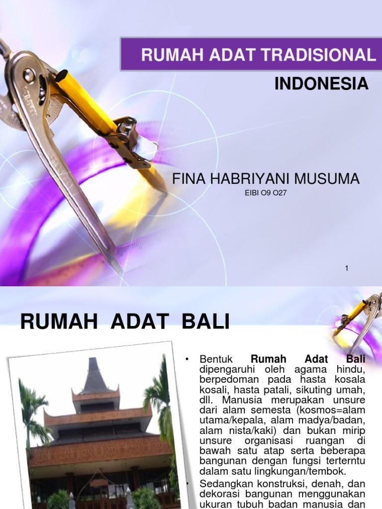 Sejarah Arsitek Fina Habriyani Musuma