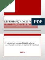 DISTRIBUIÇÃO DE POISSON (OK)
