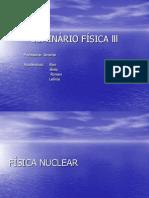 SEMINÁRIO FÍSICA lll