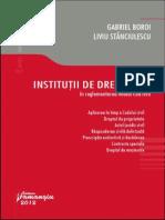 153231730 Institutii de Drept Civil in Reglementarea Noului Cod 2012 Gabriel Boroi
