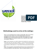 Dettol Group 12 Analysis