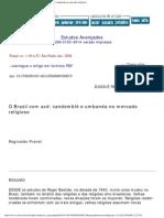 estudos avançados - o brasil com axé_ candomblé e umbanda no mercado religio