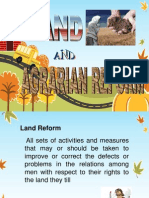 Land&Agrarian Reform- Edited 2013