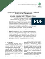 Artigo - Utilização de controlador de Demanda e Gerador Diesel