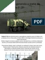 Prezentare Generala a Statie de Radiolocatie P-18