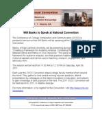 CCCC 2011 Annual Convention - Participant Announcement 2