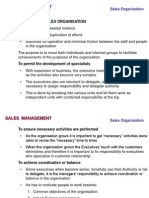 classifying Sales Organisation