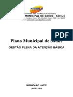Plano Municipal de Saúde 2009-2012