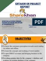 final presentationon sharekhan