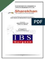 Project Sharekhan mba