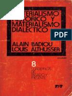 Althusser Materialismo Historico y Materialismo Dialectico Ocr