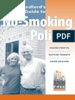 A Landlords Guide No Smoking Policies