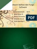 Macam Aplikasi Dan Fungsi Software