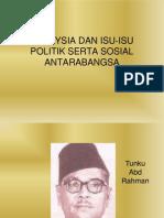 Malaysia Dan Kerjasama Serantau