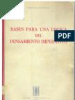 Cayetano Betancur, Bases para una lógica del pensamiento imperativo, 1968