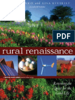 Rural Renaissance Renewing the Quest for the Good Life