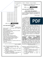 2ª P.D - 2012 (Port. 3ª série - E.M).