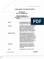 T7 B20 Timelines 9-11 2 of 2 Fdr- 10-11-01 FBI Timeline Pertaining to South Florida