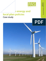 Renewable Energy and Local Plan PoliciesCase Study